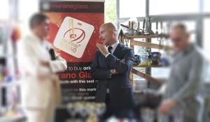 Luciano Gambaro del Consorzio Promovetro di Murano