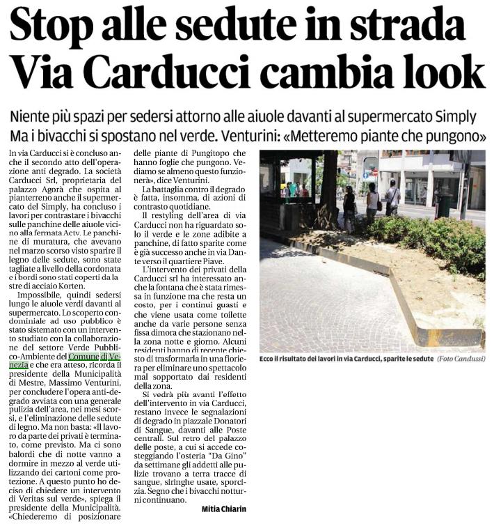 i Pungitopo in Via Carducci