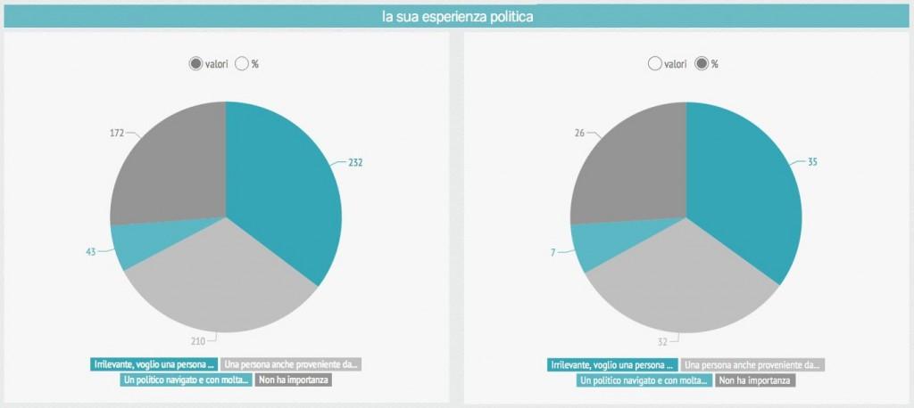 esperienza politica