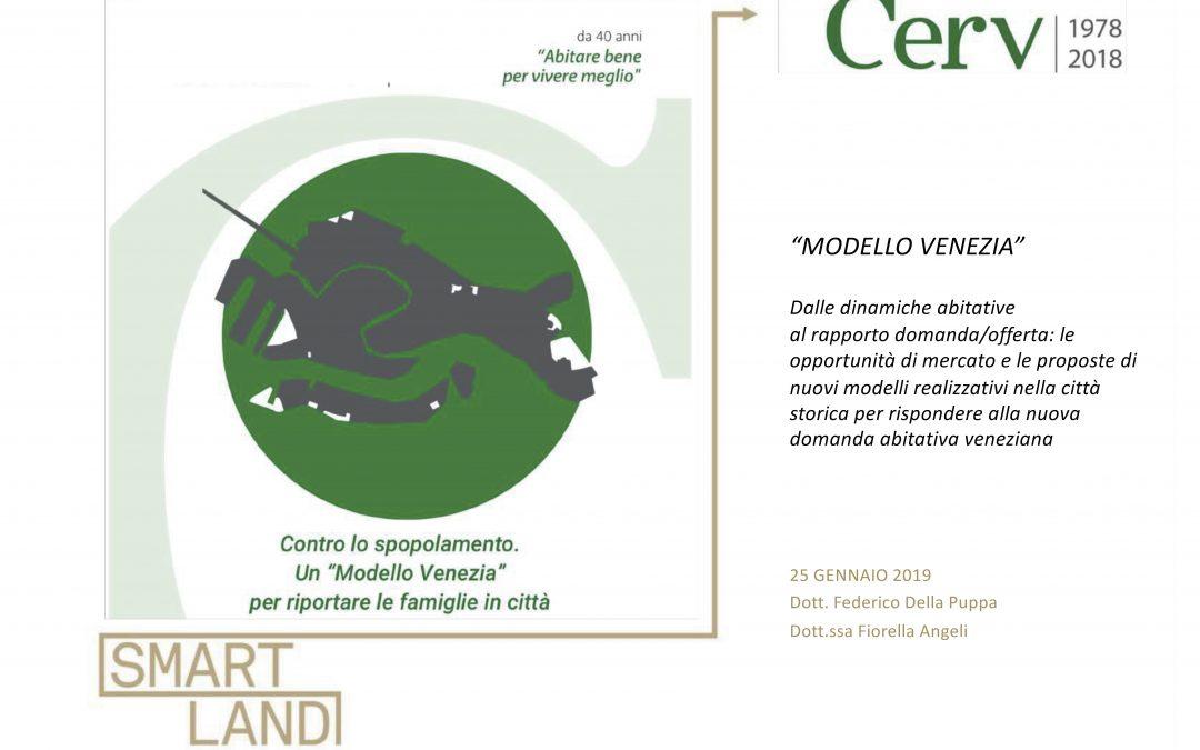 1.000 nuove case in 8 anni a Venezia. Il Modello Venezia di CERV