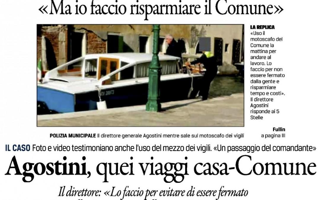 Privilegi, benefit e faccia tosta a Venezia
