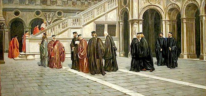 Fausto Zenaro il Consiglio dei dieci