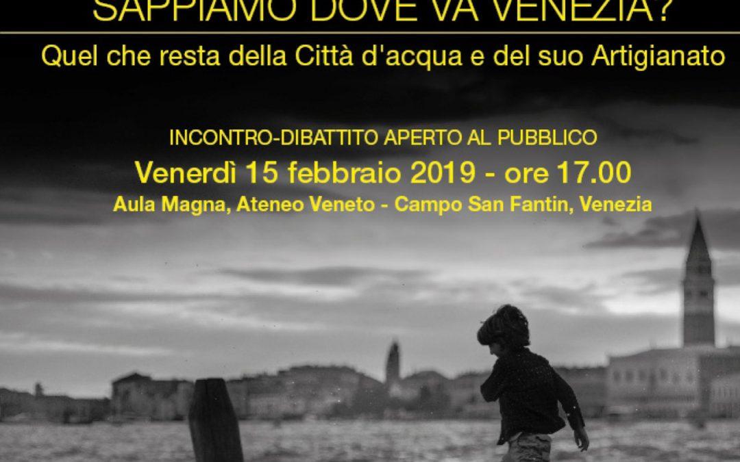 Sappiamo dove va Venezia? – L'analisi di Confartigianato Venezia